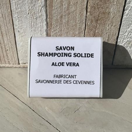 SAVON SHAMPOING SOLIDE ALOE VERA