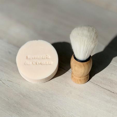 Savon de Rasage Lait de chèvre parfum Verveine